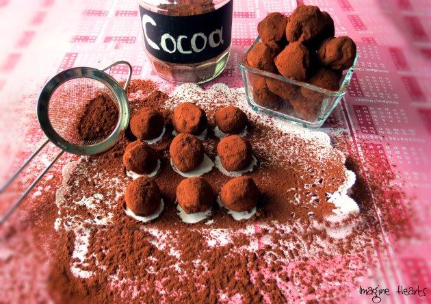 swiss chocolate truffles