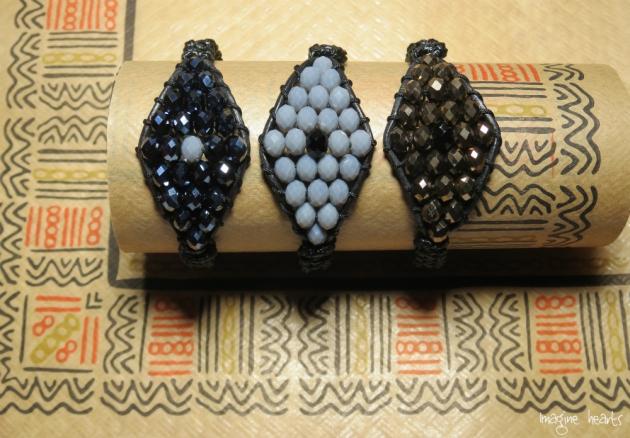 3 evil eye bracelets